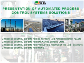 Presentation of automated process control systems solutions